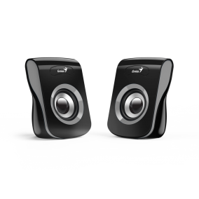 Genius Speakers SP-Q180, USB, Iron Grey