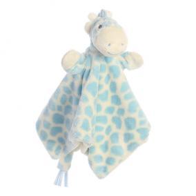 Gigi zsiráf ujjbáb csücsköző, kék 20843 Aurora