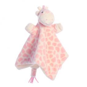 Gigi zsiráf ujjbáb csücsköző, rózsaszín 20842 Aurora