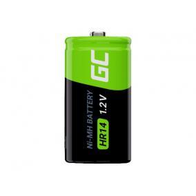 GREEN CELL 2x battery C R14 HR14 Ni-MH 1.2V 4000mAh