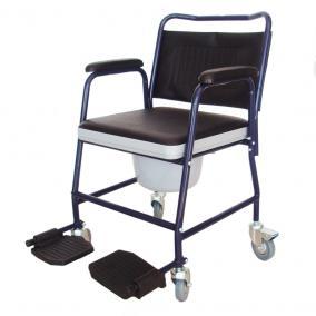 Gördíthető, fékes, szobai WC krómos - B-4021/GF