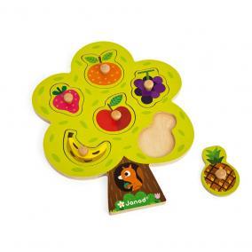 Gyümölcsfa puzzle Janod