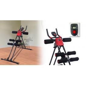 Edzőgép, has + karizom erősítő