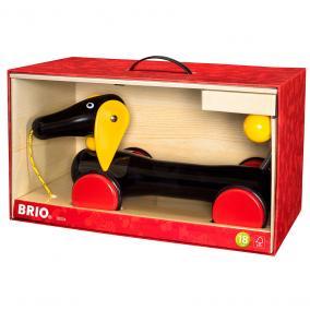 Húzható nagy tacskó 30334  Brio