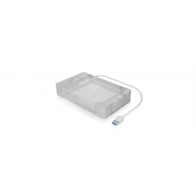 IcyBox External 3,5' / 2,5''' Case SATA III, USB 3.0, White