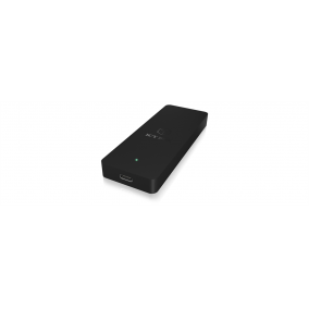 IcyBox External enclosure for M.2 SATA SSD, USB 3.1 Type-C