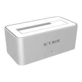 ICYBOX IB-111StU3-Wh IcyBox 2,5 és 3,5 merevlemez dokkoló, SATA 1x USB 3.0, alumínium