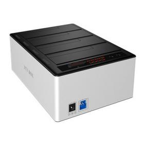 ICYBOX IB-141CL-U3 IcyBox Docking and Clone Station for 4x 2.5 & 3,5 HDD SATA, USB 3.0, JBOD