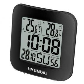 Időjárás állomás, Hyundai WS7236, fekete