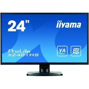 IIYAMA X2481HS-B1 LCD LED 23.6 Prolite X2481HS-B1 Full HD, 6ms, DVI-D, HDMI, speakers, black