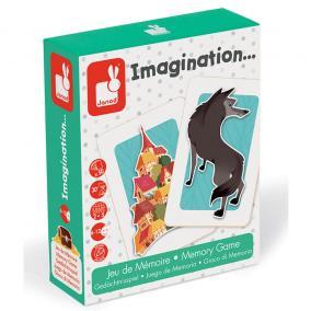 Imagination - Képzelet - memóriajáték 02753 Janod
