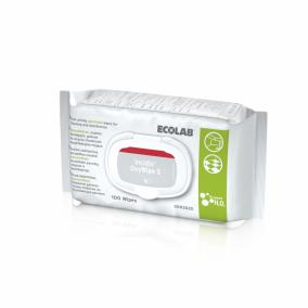 Fertőtlenítő kendő Incidin Oxywipe S 100 db (tisztít+fertőtlenít - peroxid hatóanyag)