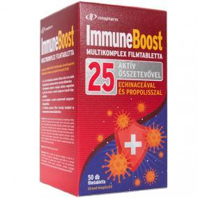 InnoPharm Immune Boost multikomplex filmtabletta echinacea és propolisz kivonattal [50 db]