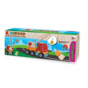 Jamara 460700  Kidiwood Fa Mágneses emelő daru 14 darabos
