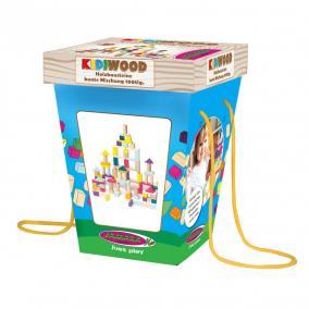 Jamara 460702 Kidiwood Fa építő játék 100 darabos