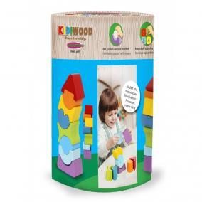 Jamara 460703  Kidiwood Fa ügyességi toronyépítő játék