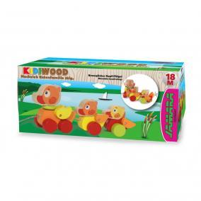 Jamara 460706 Kidiwood Fa húzható kacsacsalád