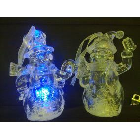 LED-es hóember, világítós (1db)