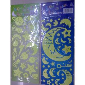 Matrica fali dekor, fluoreszkáló