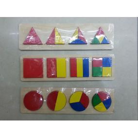 Ügyességi játék fából 4db-os különböző formával (1db)