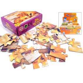 Puzzle 24db-os, állatos