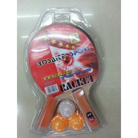 Ping pong szett, narancs nyéllel