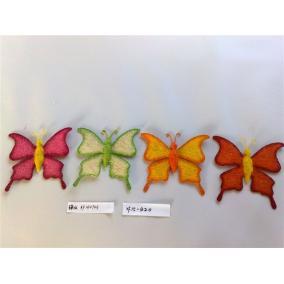 Szizál pillangó, vegyes színekben 2 (1db)
