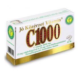 Jó közérzet c vitamin 1000 mg [30 db]