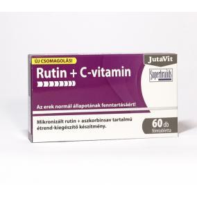 Jutavit rutin+c-vitamin tabletta [60 db]