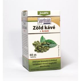 Jutavit zöldkávé + króm tabletta [60 db]