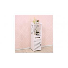 Keskeny fürdőszobai szekrény 15x15x80cm