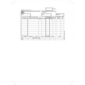 Nyomtatvány, készletkivételezési bizonylat, 25x4, A5, VICTORIA B.12-114