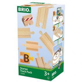 Kezdő sínszett ütközővel 33394 Brio