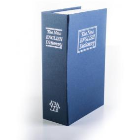 Könyvszéf 180 x 115 x 55 mm, kék