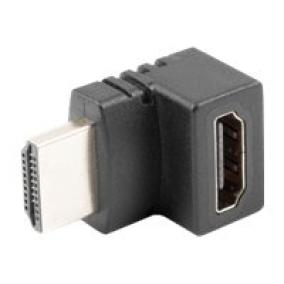 LANBERG adapter HDMI male HDMI female 90 up