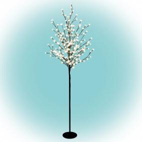 LED-es virágzó cseresznyefa dekoráció, 200 LED, 1,5m, kültéri