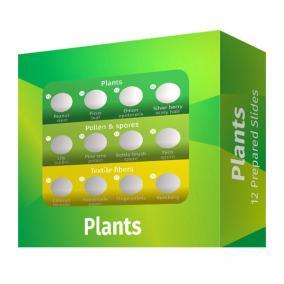 Levenhuk LabZZ P12 Növények – előkészített tárgylemez-készlet