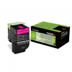 Lexmark [702XM] 70C2XM0 [M] 3K toner (eredeti, új)