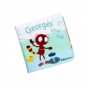 Lilliputiens 83151 GEORGES BLUB BLUB - Fürdető könyv