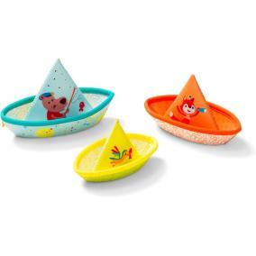 Lilliputiens 86772 3 kishajó - fürdőjáték