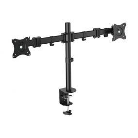 LOGILINK BP0022 LOGILINK - Dual monitor desk mount, 13-27, max. 8 kg