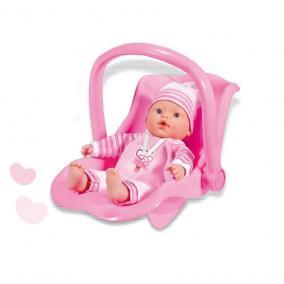 Loko baba autósüléssel, 37 cm