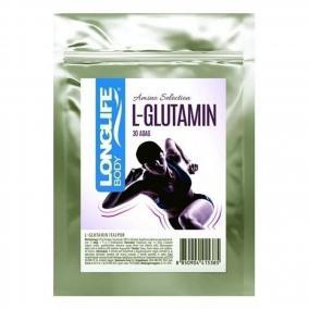 Longlife l-glutamin italpor, 120g