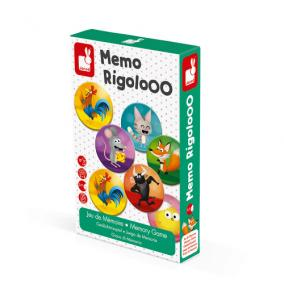 Mamóriajáték Memo Rigolooo 02736 Janod