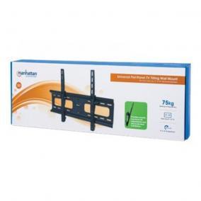 Manhattan 424752 fali tartó, TV LED/LCD/PLASMA, 37-70, 75kg, dőlhető, VESA