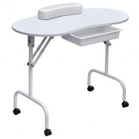 Manikűr asztal + táska [fehér]