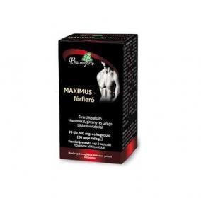 Maximus férfierõ kapszula [90 db]