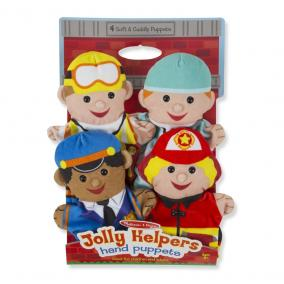 Melissa & Doug Bábjátékok, Jolly segítők