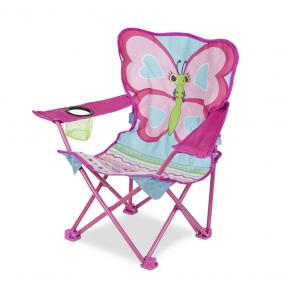 Melissa & Doug Berendezés, Pillangó kemping szék