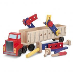Melissa & Doug Fa jármű, Kamionszerelő autó